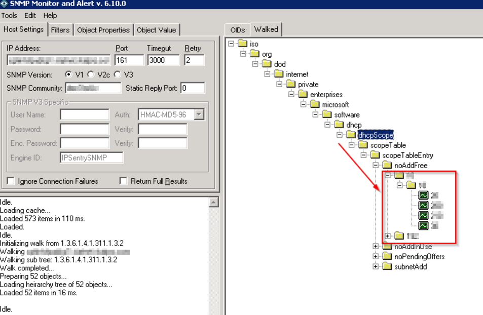 How to Monitor DHCP Addresses with IPSentry – Almost a ninja