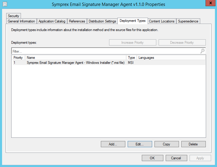 how to create application package in sccm 2012